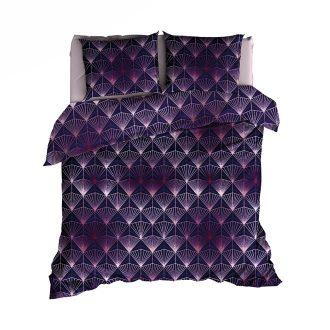 Tiffany satijn purple-rose