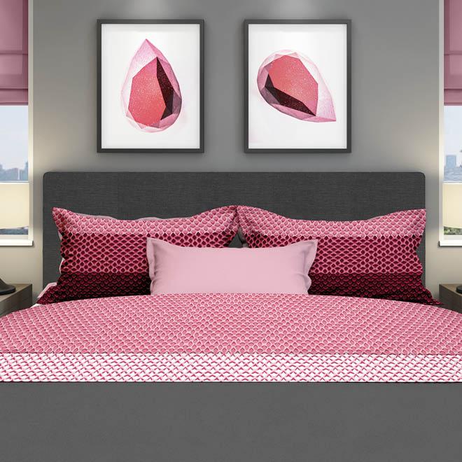 Ibisco-lakenset-rose-rood